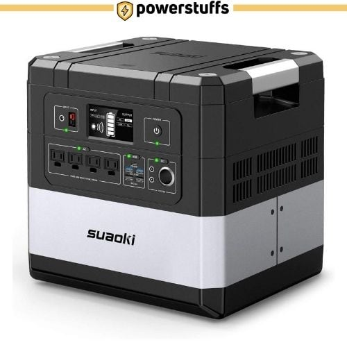 SUAOKI G1000 Portable Solar Generator