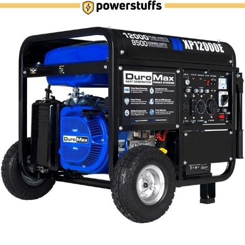 DuroMax XP12000E Gas Powered Portable Generator