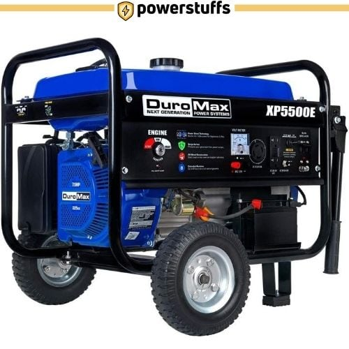 DuroMax XP5500E Gas Powered Portable Generator