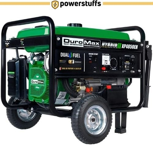DuroMax XP4850EH Dual Fuel Portable Generator Review