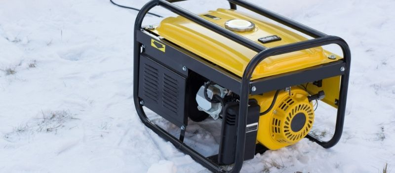 Running a Portable Generator in Rain and Snow